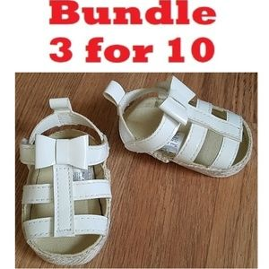 Other - First Steps Baby Shoes Size 3-6 Months